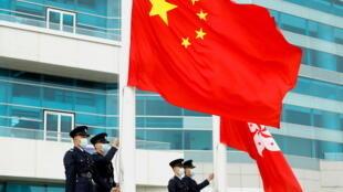 À Hong Kong, une journée d'éducation à la sécurité nationale a été organisée ce 15 avril, 10 mois après le passage de la loi sur la sécurité nationale, imposée par Pékin à Hong Kong le 30 juin dernier dans le but de contrôler par la force de la loi toute velléité de contestation (image d'illustration).
