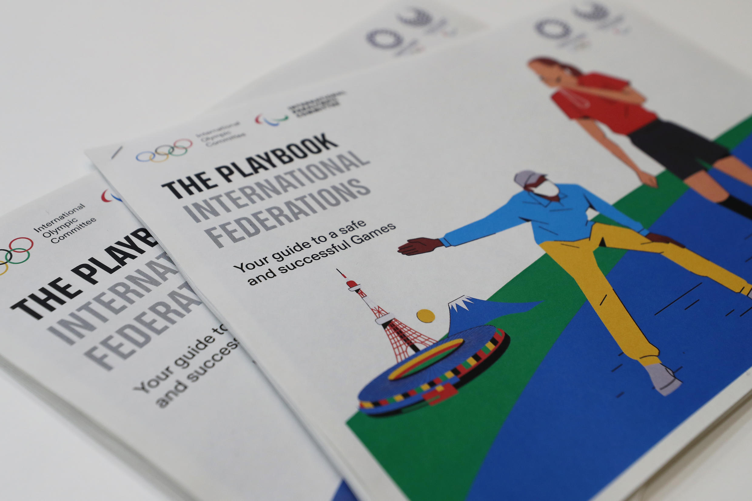 """Olympics organisers unveiled the first of a series of """"playbooks"""" aimed for holding the Tokyo Games safely this summer"""