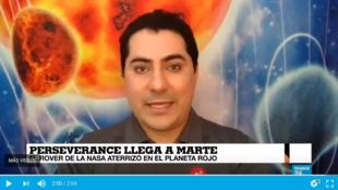 Jorge Nunez explica las misiones de Perseverance