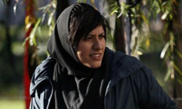 La photojournaliste et militante des droits des femmes, Maryam Majd.