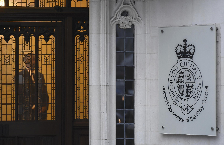 Trụ sở Tối Cao Pháp Viện Anh, Luân Đôn. Ảnh ngày 23/01/2017.