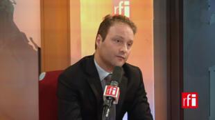 Sylvain Maillard, député LREM de Paris, élu au premier tour des élections législatives françaises 2017.