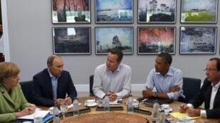 G8 họp tại khách sạn Lough Erne - Enniskillen, Bắc Ai Len. Ảnh ngày 18/06/2013