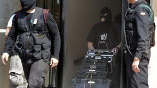 La police espagnole avait déjà arrêté un membre présumé du réseau terroriste, à Valence, le 27 mars 2012.