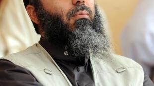 Le chef jihadiste Abou Ayad, en mai 2012 à Kairouan, en Tunisie.