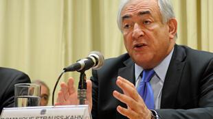 O diretor-gerente do Fundo Monetário Internacional (FMI), Dominique Strauss-Kahn.