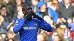 Demba Ba mshambulizi wa klabu ya Chelsea