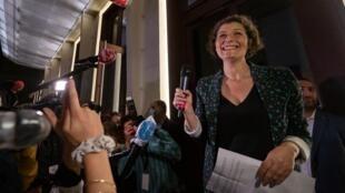 Новый мэр Страсбурга, 39-летняя представительница партии «Европа Экология Зеленые» Жанна Барсегян.