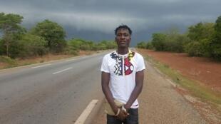 L'artiste burkinabè Amzy.