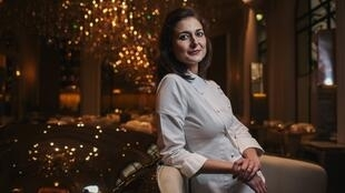 French pastry chef Jessica Préalpato works for the Plaza Athénée in Paris