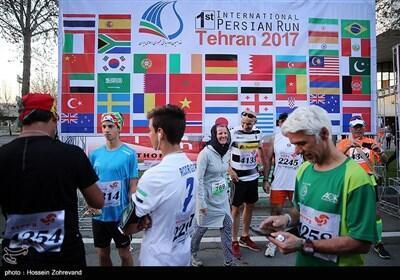 نخستین دو ماراتن بینالمللی ایران در تهران برگزار شد
