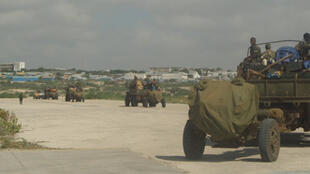 Départ de l'armée éthiopienne.