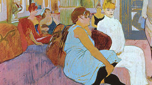 Au salon de la rue des Moulins, Henri de Toulouse-Lautrec