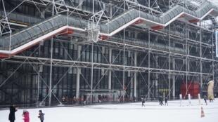 Centro Pompidou, em Paris, nesta sexta-feira (9).