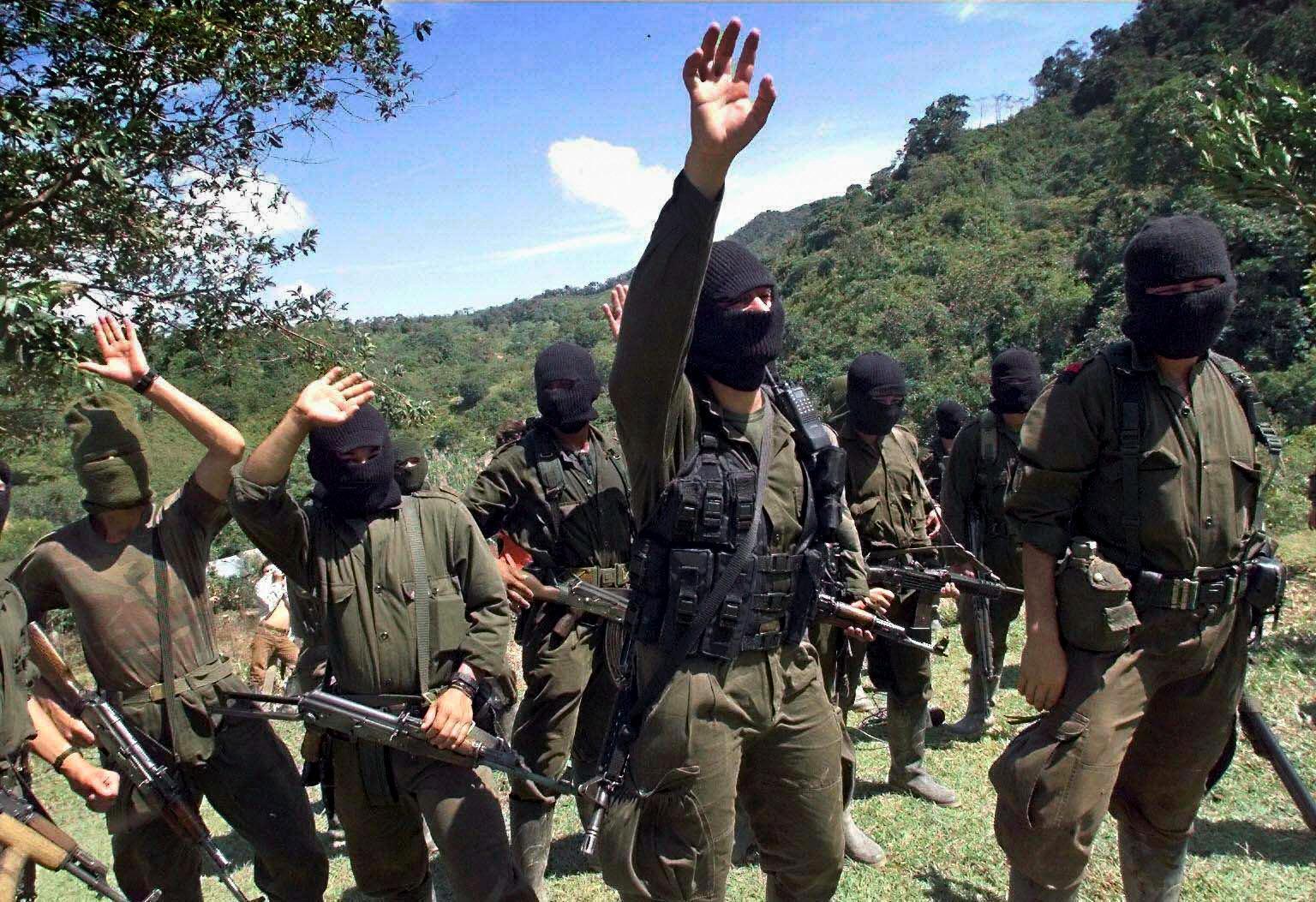 Combattants de l'ELN (Armée de libération nationale).