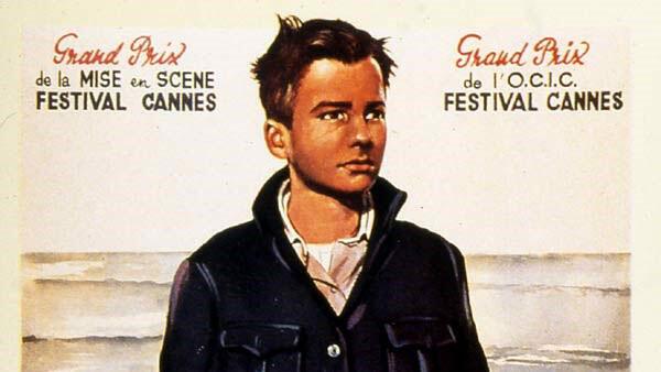 Bích chương phim «Les Quatre cents coups», của đạo diễn François Truffaut.