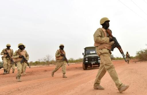 Soldiers from Burkina Faso, which belong to the G5 Sahel force, have been unable to stem jihadist violence which has intensified throughout 2019