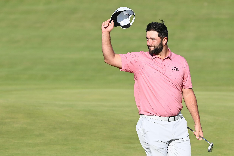 El golfista español Jon Rahm, en el British Open, en Julio de 2021