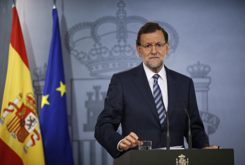 Imagen de archivo del presidente del gobierno español Mariano Rajoy.