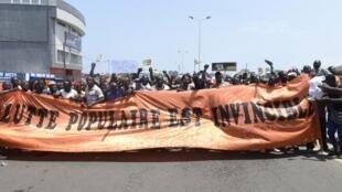 Manifestation de l'opposition le 6 septembre 2017 au Togo.