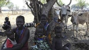 Displaced persons in the Pibor region, South Sudan