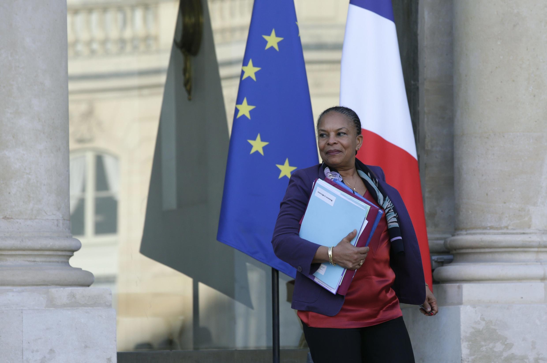 Christiane Taubira, Waziri wa Sheria nchini Ufaransa juu ya hatua mpya za kupambana na ugaidi nchini Ufaransa.