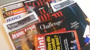 Capas de magazines news franceses de 19 de novembro de 2016