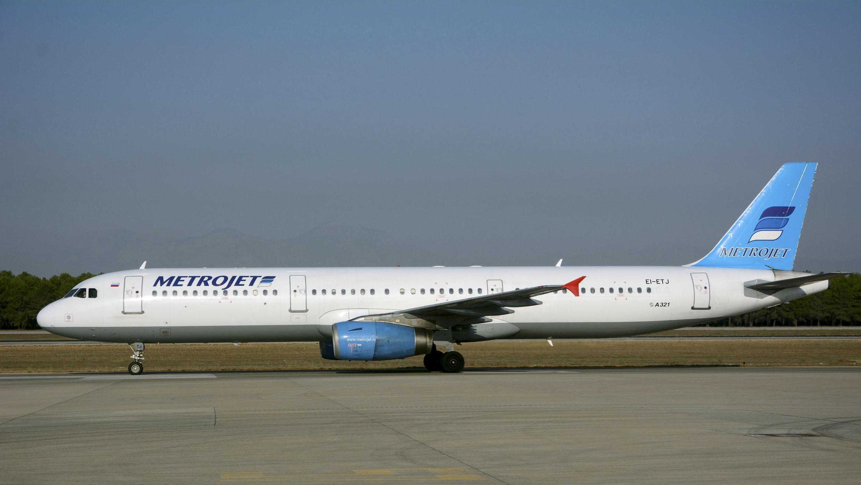 Airbus de la compagnie Metrojet/Kogalymavia A321, ici sur le tarmac de l'aéroport d'Antalya (Turquie), le 17 septembre 2015