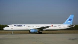 Imagem do Airbus da companhia russa Metrojet/Kogalymavia aqui intactada em setembro na Turquia, antes do acidente do Sinai de 31 de outubro