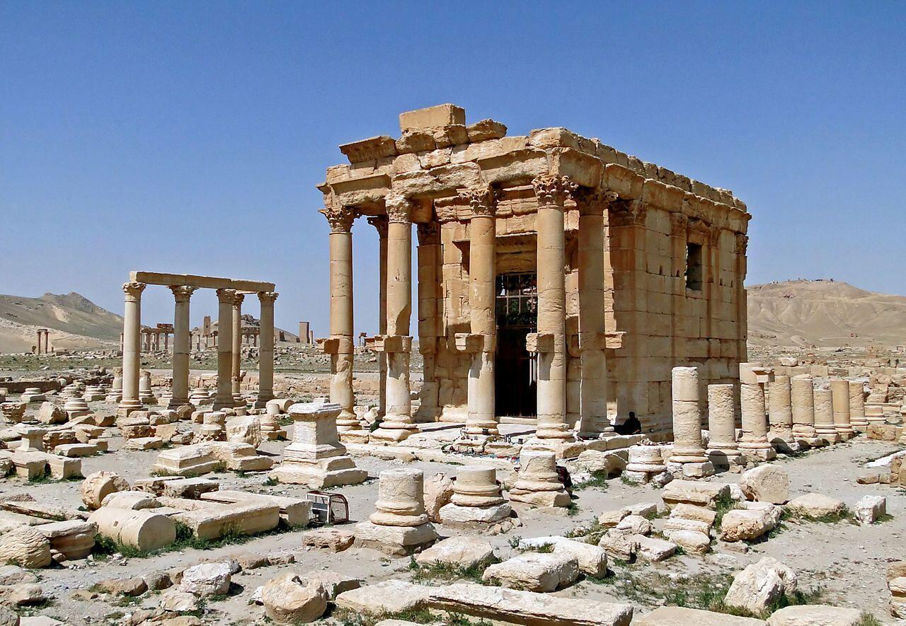 Di tích đền Baalshamin ở Palmyra