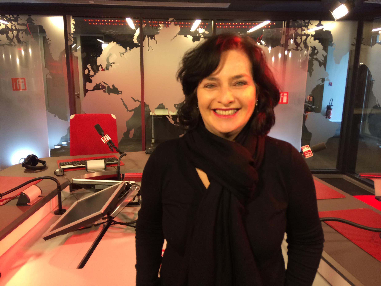 A fundadora do Festival de Cinema Brasileiro de Paris, Kátia Adler, nos estúdios da RFI.