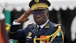 Le général Lassina Doumbia, chef d'état-major de l'armée ivoirienne.