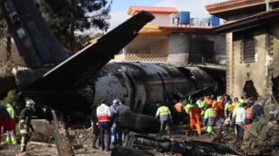 Le Boeing 737 de la compagnie ukrainienne s'est écrasé en Iran après avoir été atteint par des missiles le 8 janvier 2020.