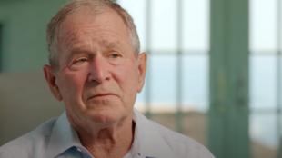 美国前总统小布什资料图片