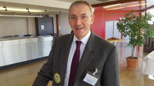 Etienne Henriot, agriculteur, président du Groupement d'Intérêt Economique de la filière Culture Raisonnée Contrôlée ou GIE CRC.