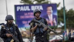 Militaires camerounais.