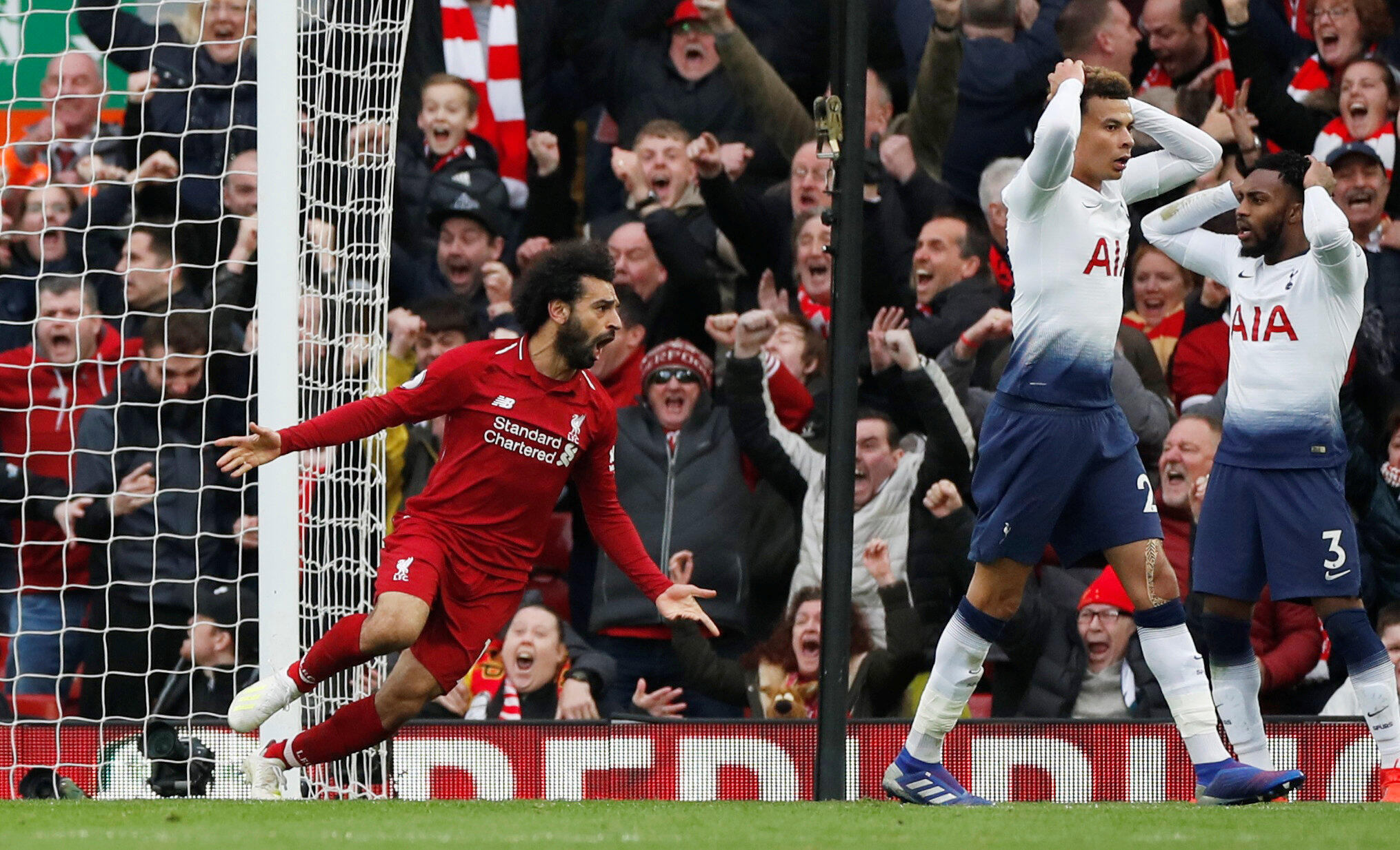 Wani wasa tsakanin Liverpool da Tottenham karkashin gasar Firimiya