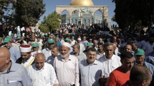 Rikicin Falasdinawa da Isra'ila akan Masallacin Al Aqsa