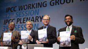 Cientistas e representantes políticos do Painel Intergovernamental de Mudanças Climáticas (IPCC) das Nações Unidas reuniram-se em Berlim