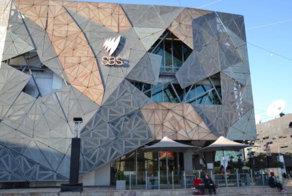 澳大利亞特別服務廣播公司(SBS)墨爾本總部資料圖片