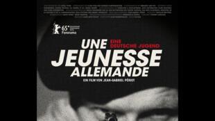 L'affiche du film <i>Une jeunesse allemande</i>, du réalisateur Jean Gabriel Periot.
