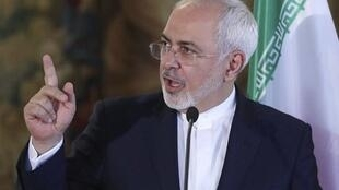 محمدجواد ظریف وزیر امور خارجۀ جمهوری اسلامی ایران