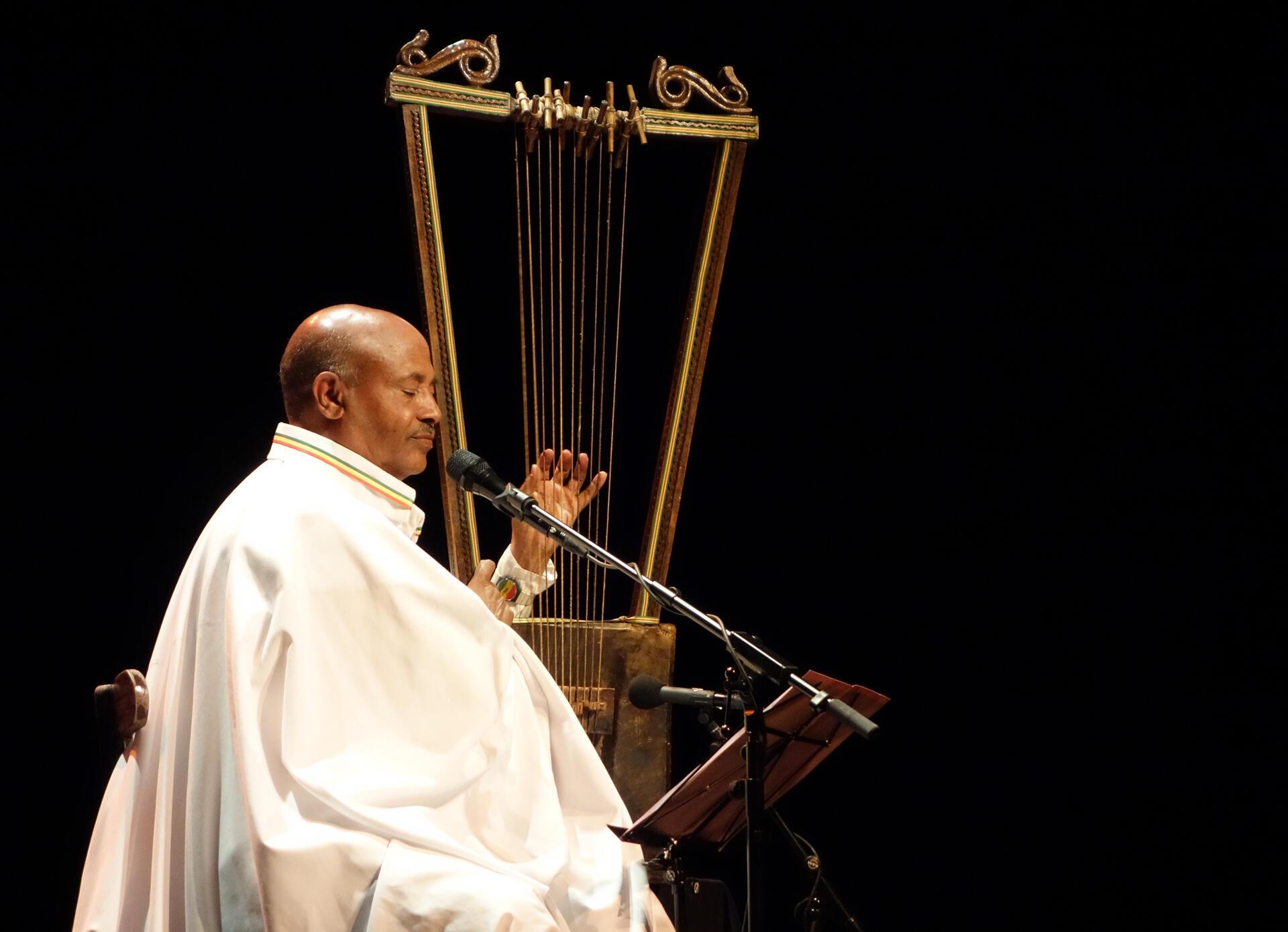 Alemu Aga Ethiopian musician