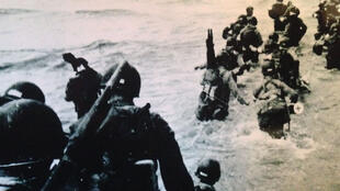 D Day Omaha Beach.