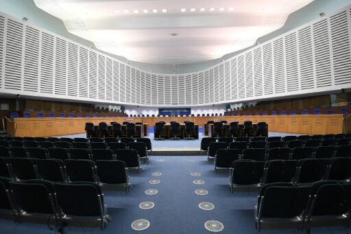 La Corte Europea de Derechos Humanos (CEDH), en la ciudad francesa de Estrasburgo, en una imagen del 7 de febrero de 2019