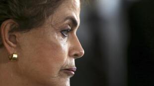 Tổng thống Brazil, bà Dilma Rousseff.
