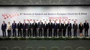 李克強與中東歐國家領袖舉行第8屆16+1峰會2019年4月12日克羅地亞