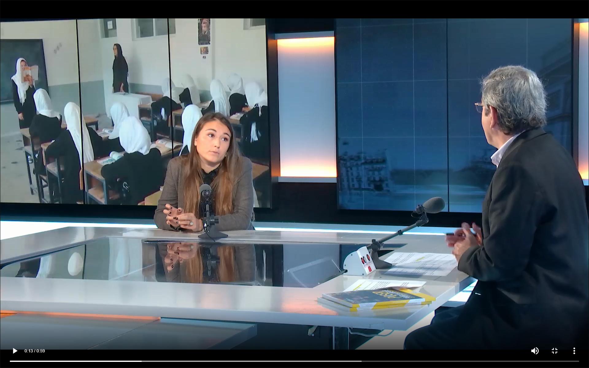 Amaryllis Quezada, responsable de comunicación e incidencia del programa PAUSE del Colegio de Francia