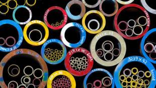 Ảnh minh họa: Ống thép của Hàn Quốc bán sang thị trường Mỹ