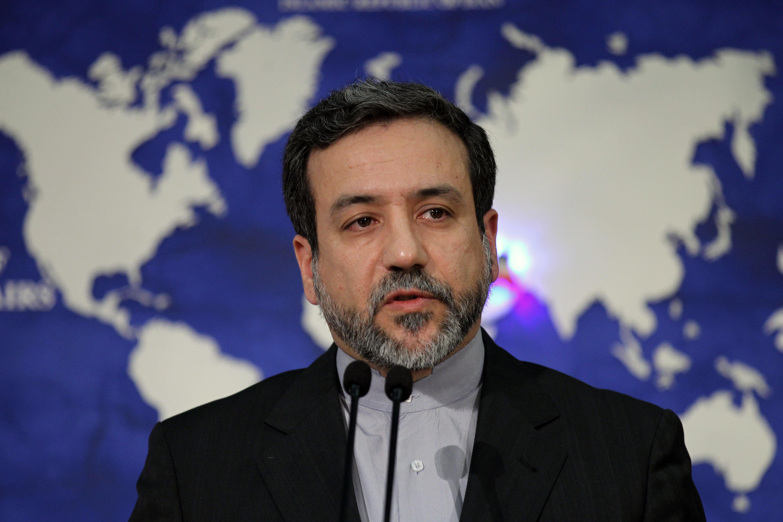 Abbas Araghchi, actuel chef des négociateurs iraniens sur le dossier nucléaire. Photo: mai 2013, Téhéran.